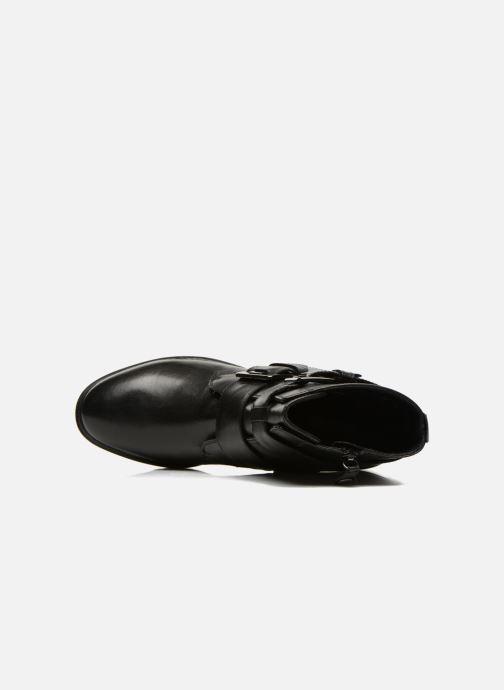 Boots en enkellaarsjes Geox D PEACEFUL C D540GC Zwart links