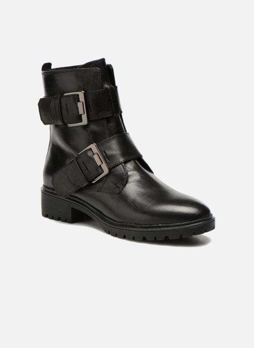 Boots en enkellaarsjes Geox D PEACEFUL C D540GC Zwart detail