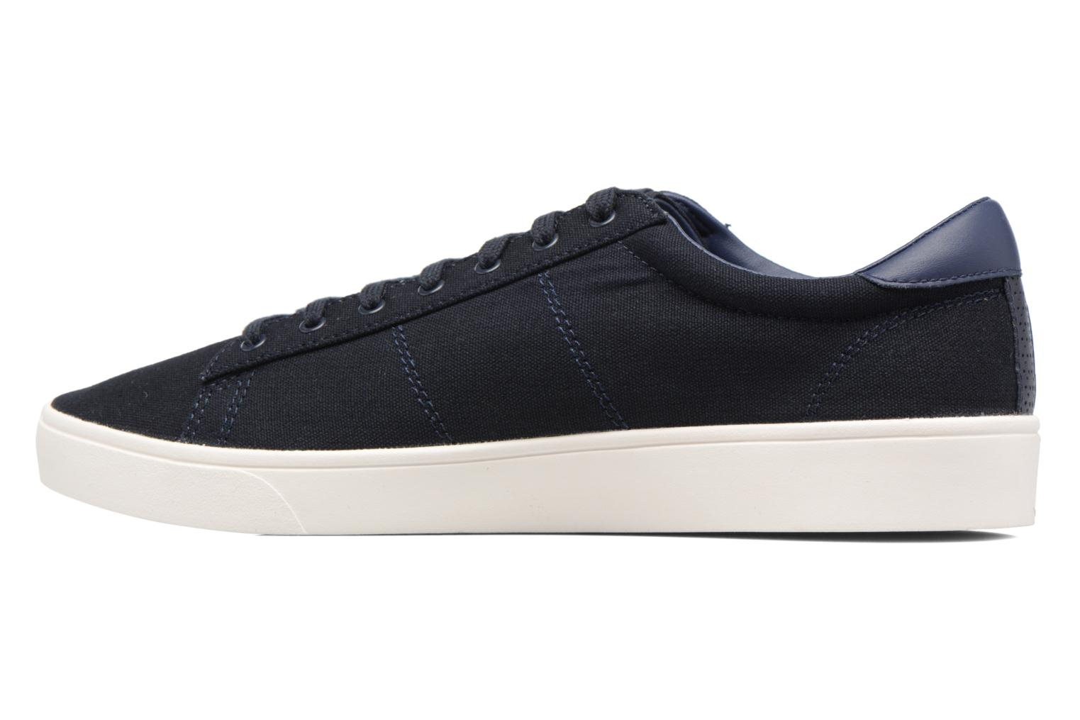 Baskets Fred Perry Spencer Canvas Bleu vue face