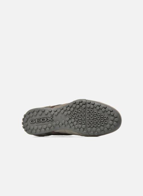 264409 Sneaker B U Geox Snake U5407b grau XAYAOnS