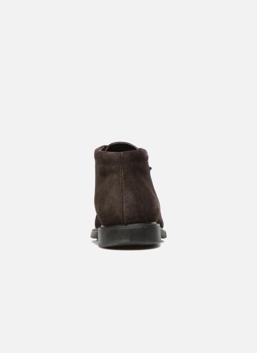 Zapatos con cordones Geox U BRAYDEN 2FIT ABX D U54N1D Marrón vista lateral derecha