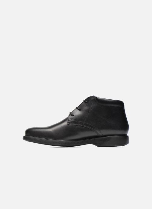 Zapatos con cordones Geox U BRAYDEN 2FIT ABX D U54N1D Negro vista de frente
