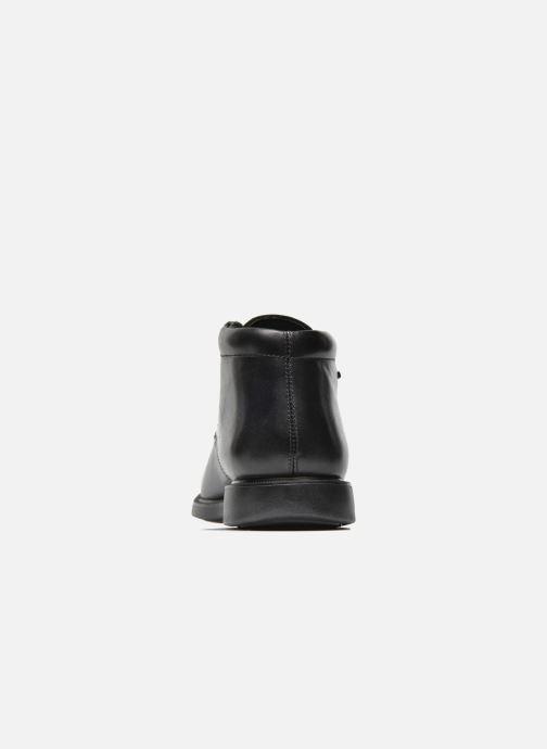 Zapatos con cordones Geox U BRAYDEN 2FIT ABX D U54N1D Negro vista lateral derecha
