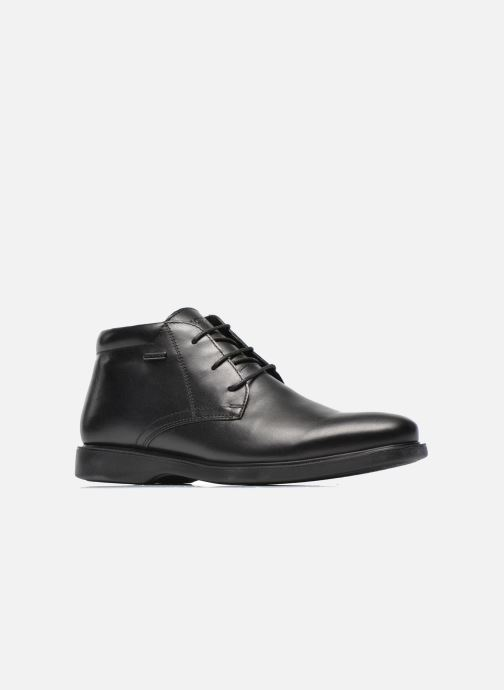 Chaussures à lacets Geox U BRAYDEN 2FIT ABX D U54N1D Noir vue derrière