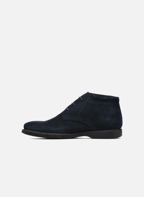 Zapatos con cordones Geox U BRAYDEN 2FIT ABX D U54N1D Azul vista de frente