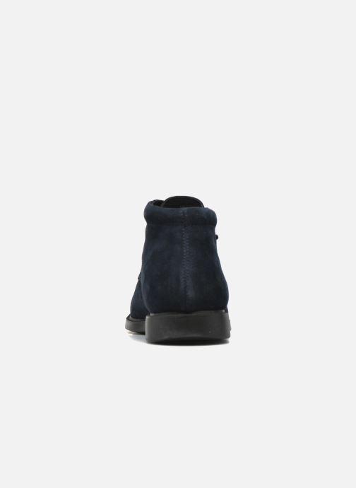 Zapatos con cordones Geox U BRAYDEN 2FIT ABX D U54N1D Azul vista lateral derecha
