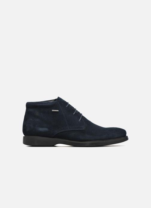 Zapatos con cordones Geox U BRAYDEN 2FIT ABX D U54N1D Azul vistra trasera