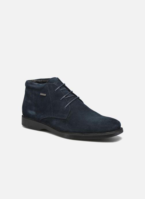 Snøresko Geox U BRAYDEN 2FIT ABX D U54N1D Blå detaljeret billede af skoene