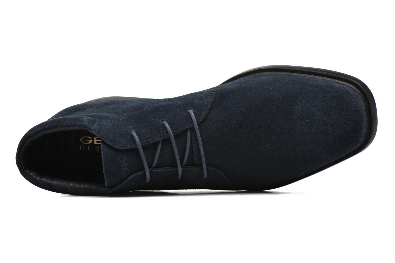 Chaussures à lacets Geox U BRAYDEN 2FIT ABX D U54N1D Bleu vue gauche