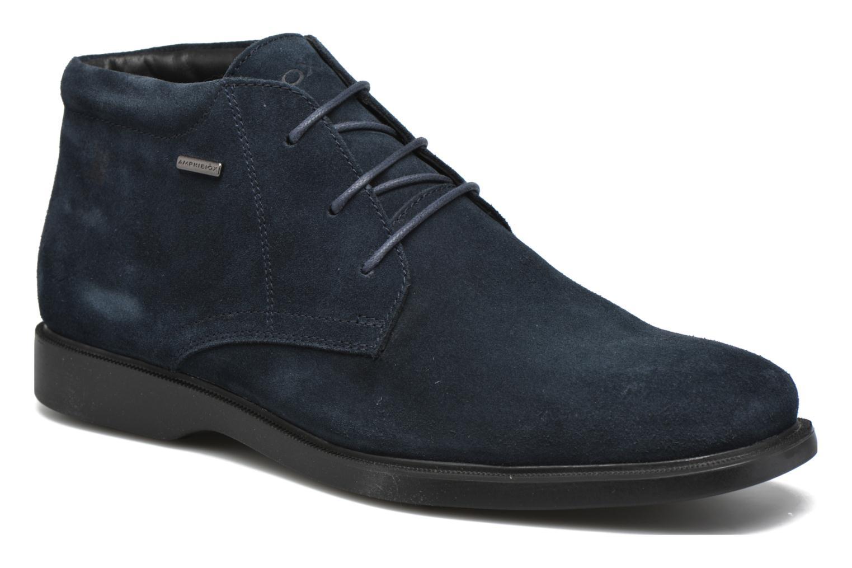 Chaussures à lacets Geox U BRAYDEN 2FIT ABX D U54N1D Bleu vue détail/paire