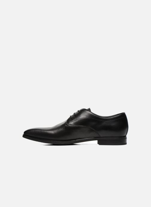 Lace-up shoes Geox U NEW LIFE A U54P4A Black front view