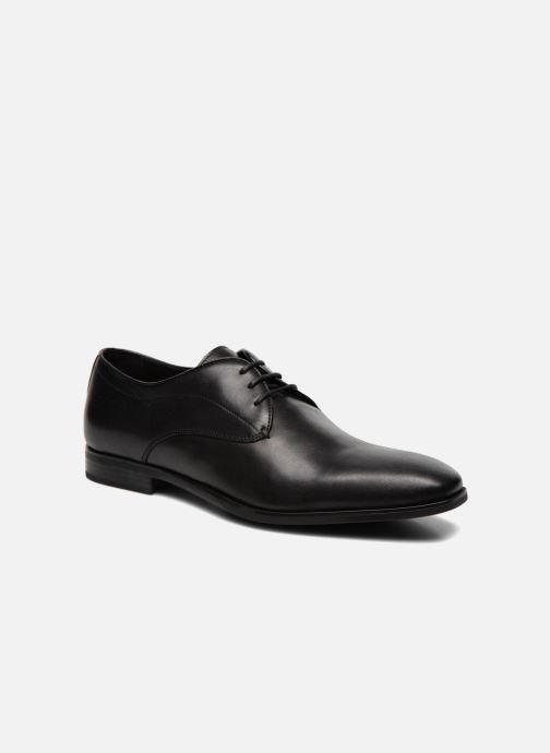 Chaussures à lacets Geox U NEW LIFE A U54P4A Noir vue détail/paire