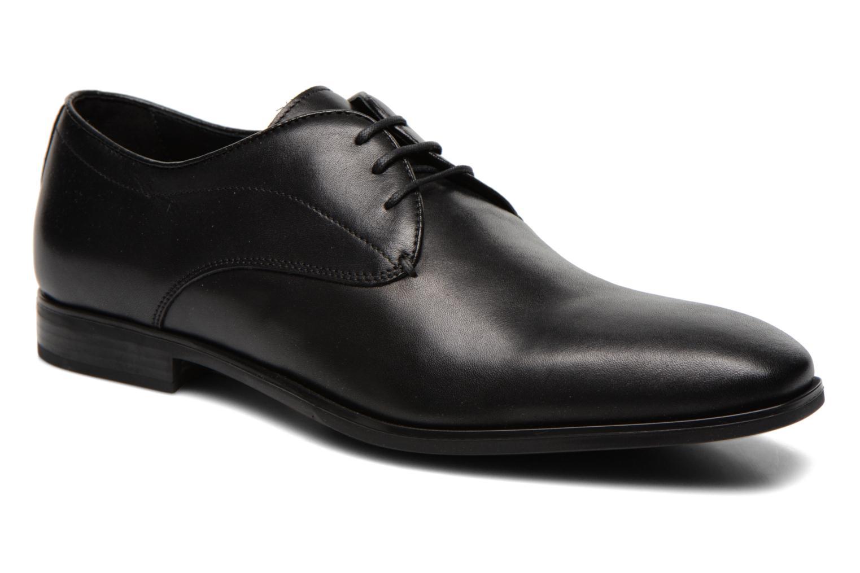 Zapatos con cordones Geox U NEW LIFE A U54P4A Negro vista de detalle / par