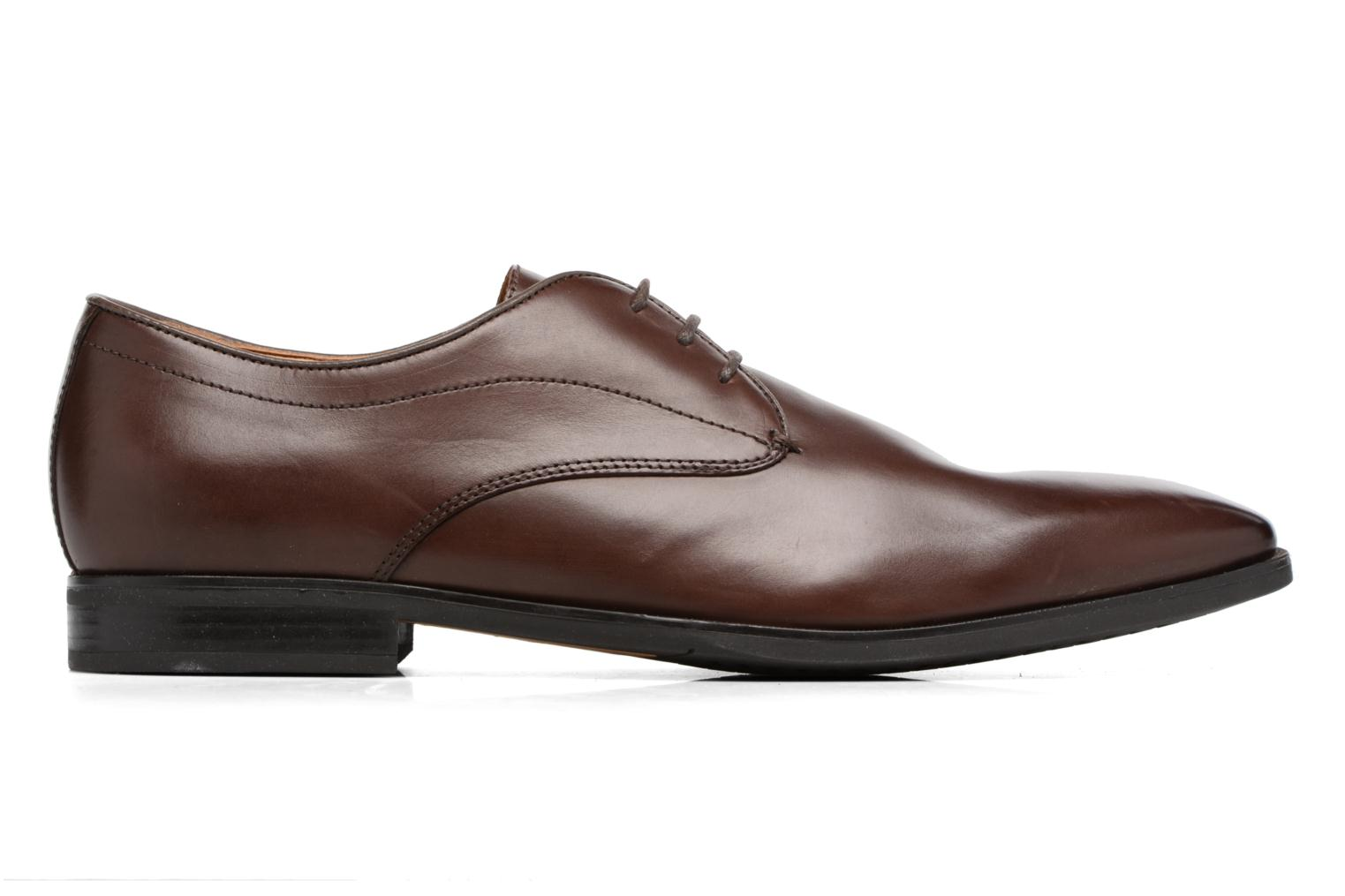 Lace-up shoes Geox U NEW LIFE A U54P4A Brown back view