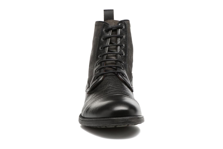 Bottines et boots Geox U JAYLON B U54Y7B Noir vue portées chaussures