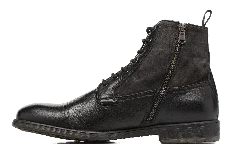 Bottines et boots Geox U JAYLON B U54Y7B Noir vue face