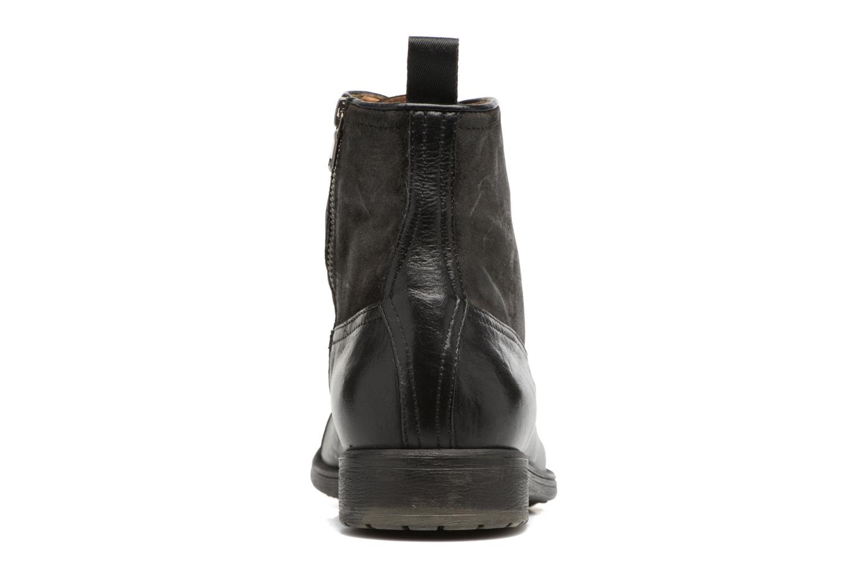 Bottines et boots Geox U JAYLON B U54Y7B Noir vue droite