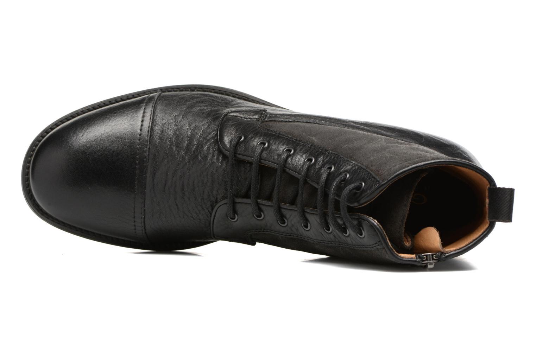 Bottines et boots Geox U JAYLON B U54Y7B Noir vue gauche