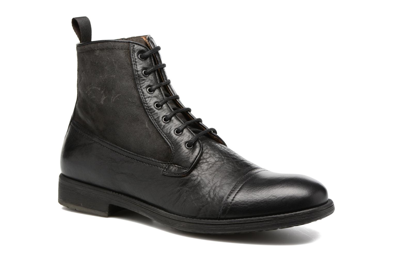 Bottines et boots Geox U JAYLON B U54Y7B Noir vue détail/paire