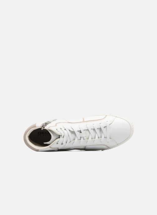 Sneakers Geox U SMART K U54X2K Wit links