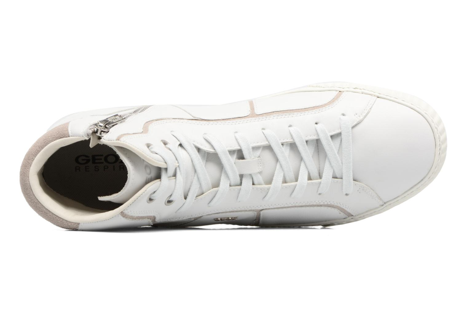 Trainers Geox U SMART K U54X2K White view from the left