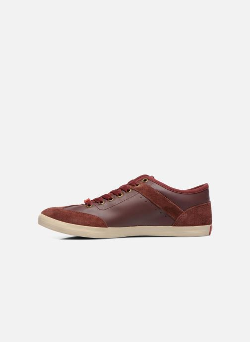 Trainers Coca-cola shoes Montreal Low Burgundy front view