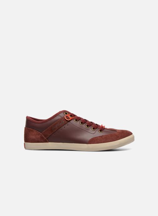 Trainers Coca-cola shoes Montreal Low Burgundy back view