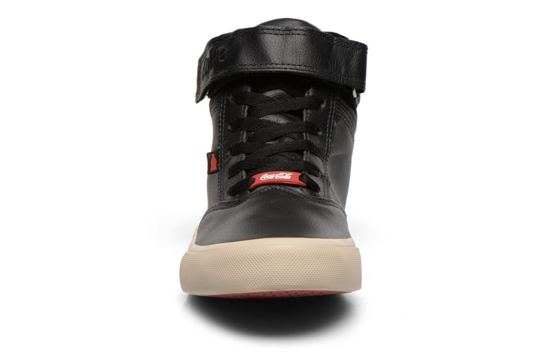 Sneakers Coca-cola shoes Mika leather Sort se skoene på