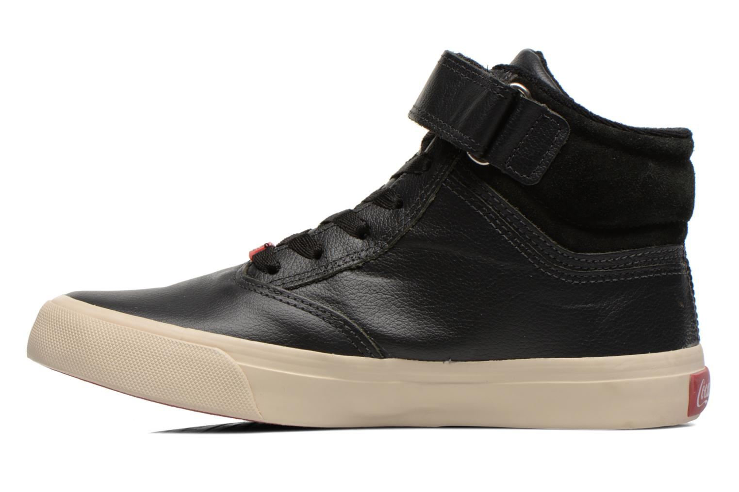 Sneakers Coca-cola shoes Mika leather Sort se forfra