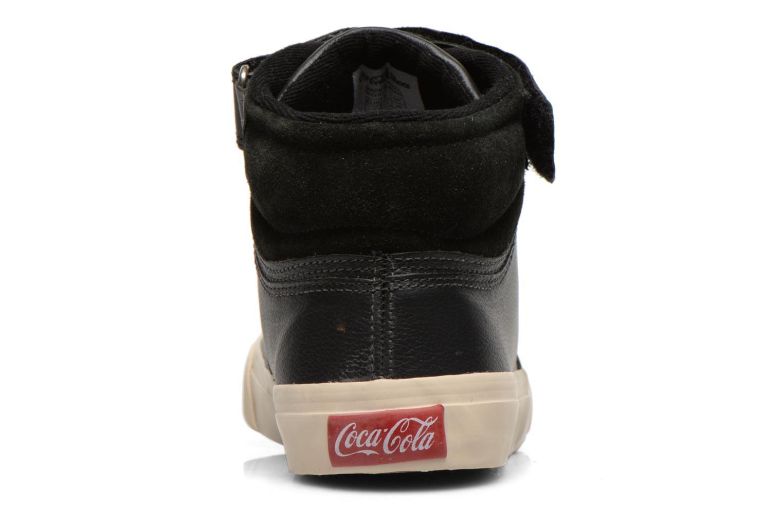 Sneakers Coca-cola shoes Mika leather Sort Se fra højre