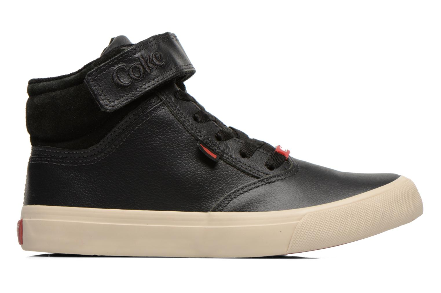 Sneakers Coca-cola shoes Mika leather Sort se bagfra