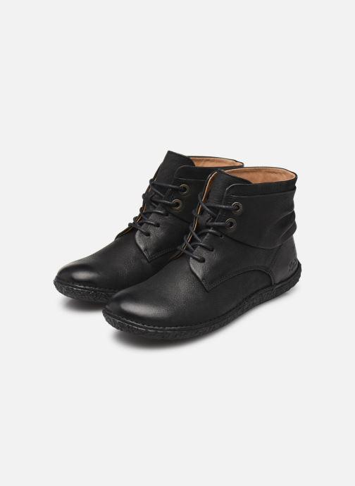 Bottines et boots Kickers HOBYLOW Noir vue bas / vue portée sac