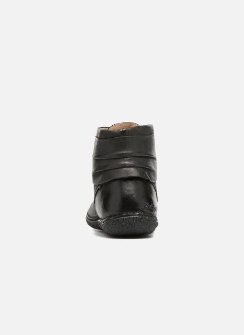 Stiefeletten & Boots Kickers HOBYLOW schwarz ansicht von rechts