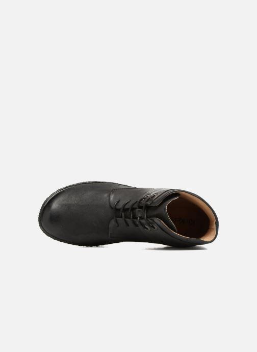 Bottines et boots Kickers HOBYLOW Noir vue gauche