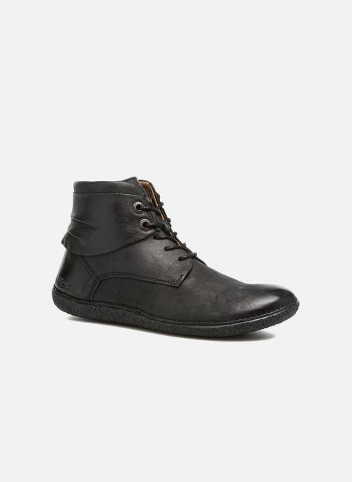 Boots en enkellaarsjes Kickers HOBYLOW Zwart detail