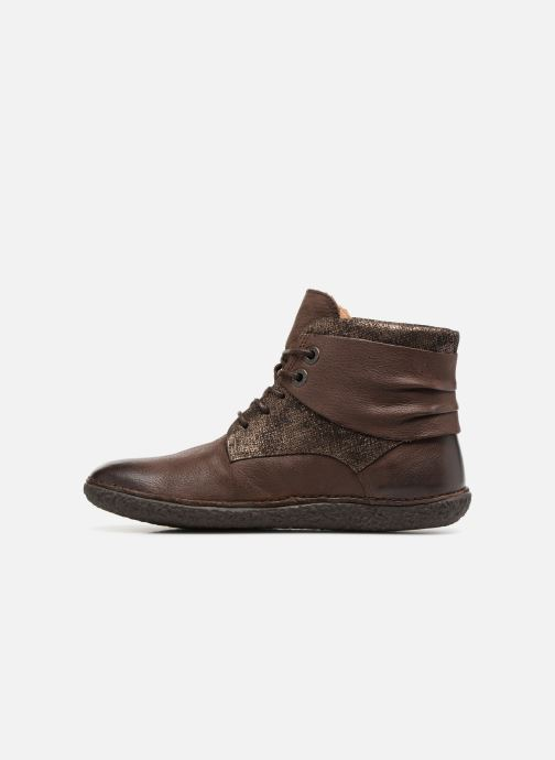 Bottines et boots Kickers HOBYLOW Marron vue face