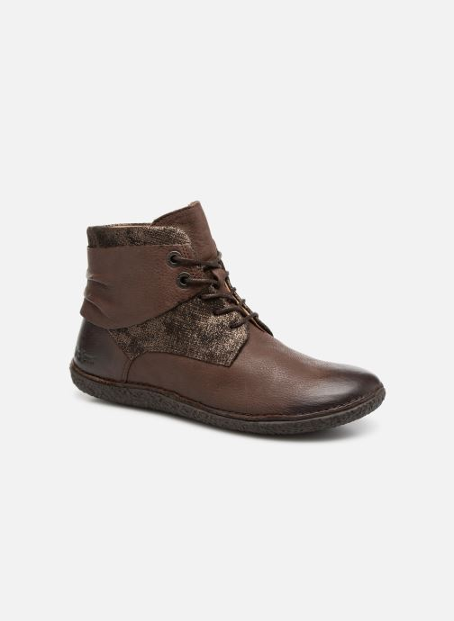 Bottines et boots Kickers HOBYLOW Marron vue détail/paire