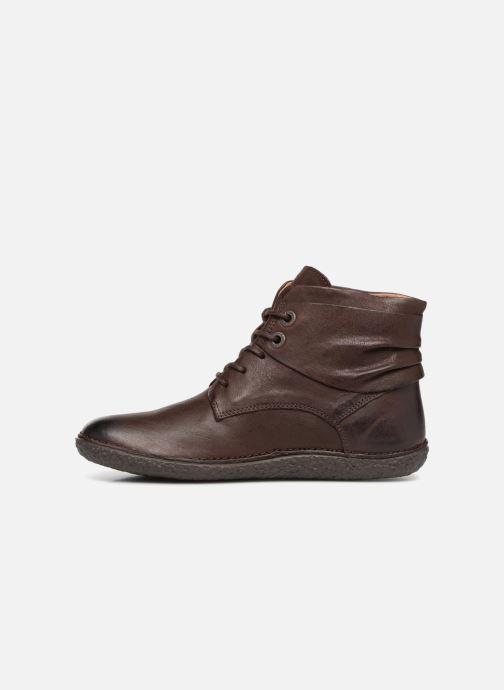 Boots en enkellaarsjes Kickers HOBYLOW Bruin voorkant