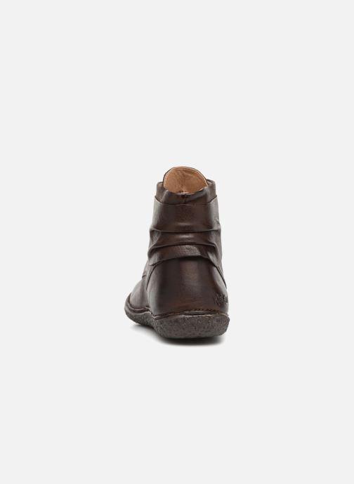 Bottines et boots Kickers HOBYLOW Marron vue droite