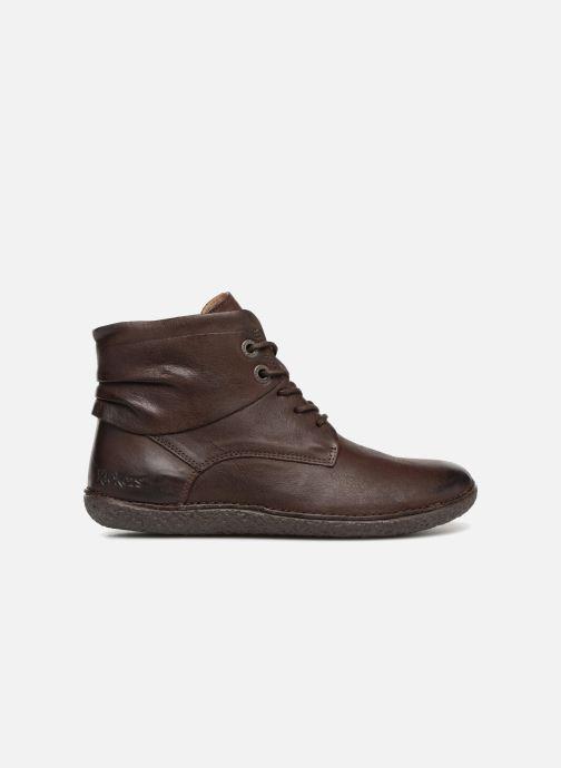 Boots en enkellaarsjes Kickers HOBYLOW Bruin achterkant