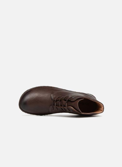 Boots en enkellaarsjes Kickers HOBYLOW Bruin links