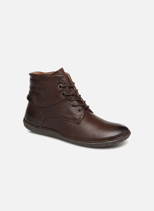 Bottines et boots Kickers HOBYLOW Marron vue détail/paire