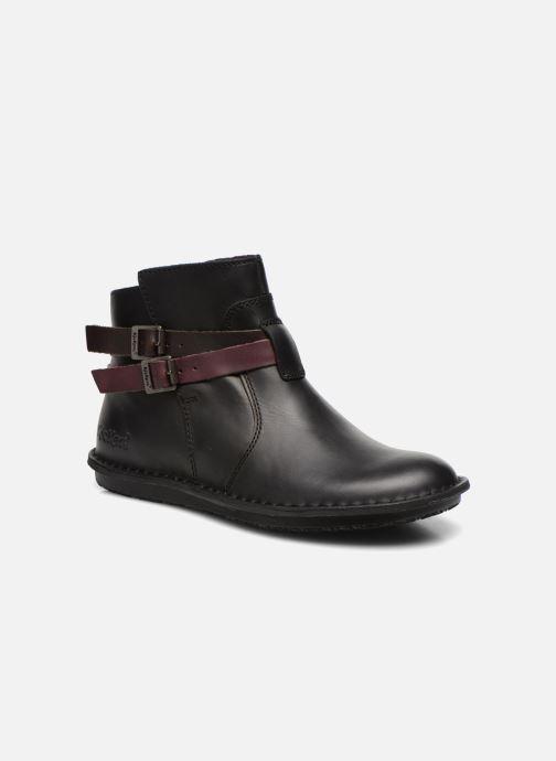 75fabfe12c1 Kickers WOUASO (Noir) - Bottines et boots chez Sarenza (234703)