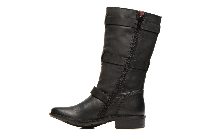 Boots en enkellaarsjes Kickers Growup Zwart voorkant