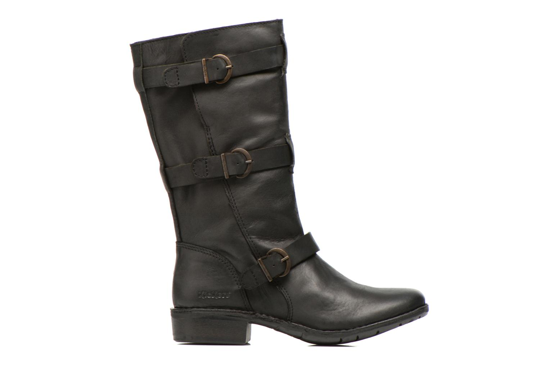 Boots en enkellaarsjes Kickers Growup Zwart achterkant