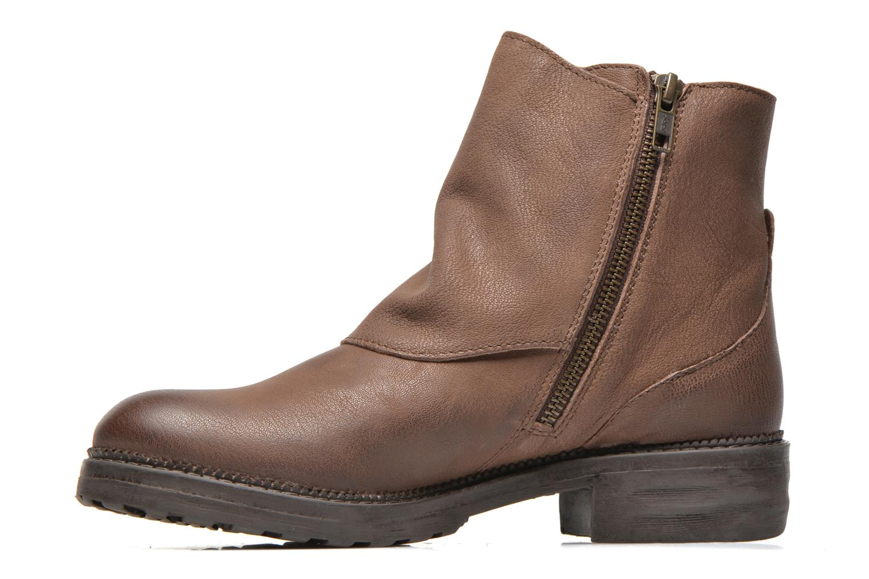 Bottines et boots Kickers Rouille Marron vue face