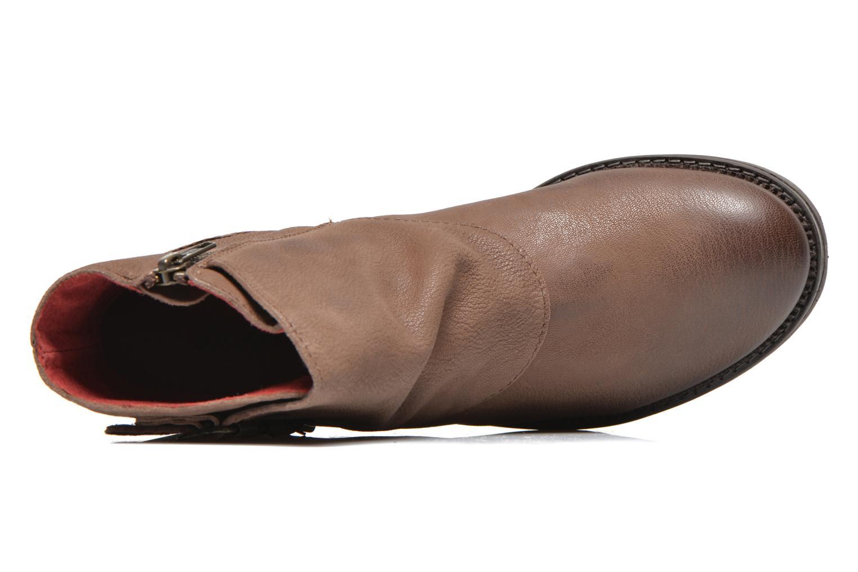 Bottines et boots Kickers Rouille Marron vue gauche