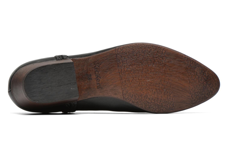 Bottines et boots Kickers Westiti Noir vue haut