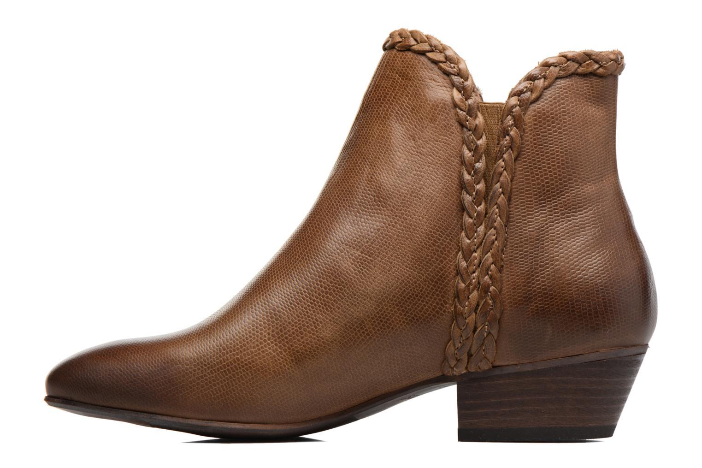 Bottines et boots Kickers Westiti Marron vue face