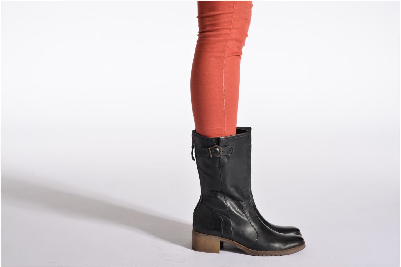 Bottines et boots Kickers Milanaise Noir vue bas / vue portée sac
